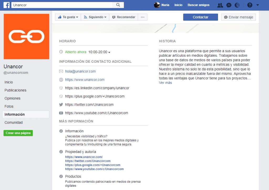 posicionamiento de marca con Facebook