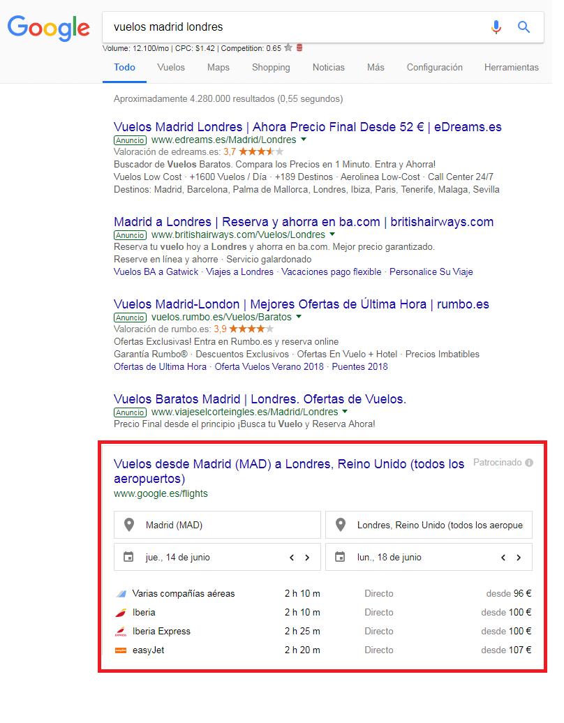 qué es la intención de búsqueda