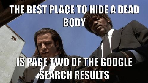 SEO primera página Google